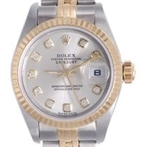 Rolex Ladies Rolex Datejust Watch 79173 Genuine Rolex Gray...