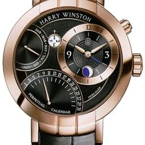 Harry Winston Premier Excenter Perpetual Calendar 41mm...