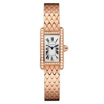 Cartier Tank Americaine Quartz Ladies Watch Ref WB710012