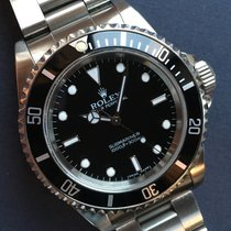 Rolex 1995 Submariner 14060 Box And Papers And Rolex Service