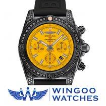 Breitling CHRONOMAT 44 BLACKSTEEL Ref. MB0111AV/I532/262S/M20D...