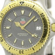 TAG Heuer Polished Tag Heuer Sel Professional 200m Gold Plated...