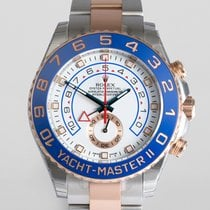 "Rolex Yacht-Master II ""Fully Stickered"" Everose Gold..."