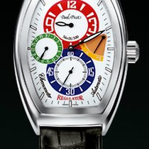 Paul Picot FIRSHIRE règulateur strap skin black  chronometer...