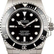 Rolex Men's Steel (No-Date) Submariner Watch 114060...