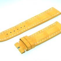 Breitling Tradema Band 22mm Croco Yellow Strap It22-01