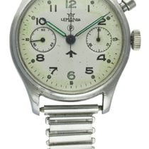 Lemania BRITISH MILITARY SINGLE BUTTON ROYAL NAVY CHRONOGRAPH