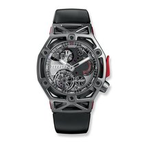 Hublot Techframe Ferrari Tourbillion Chronograph Titanium 45mm...