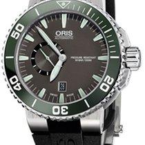 Oris Aquis Small Second Date 01 743 7673 4137-07 4 26 34EB