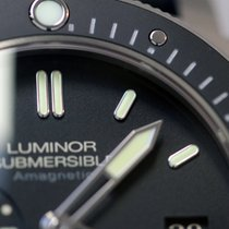 파네라이 (Panerai) LUMINOR SUBMERSIBLE 1950 AMAGNETIC 3 DAYS TITANE