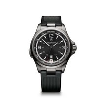 Victorinox Swiss Army Night Vision, date, torch, black dial,...