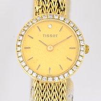Tissot 18K Lady Dresswatch Cocktailwatch Vintage extravagant...