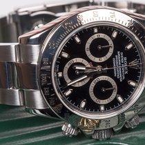 Rolex Daytona Steel ref. 116520 Black Dial Rolex 2 year warranty
