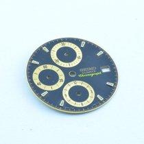 Seiko Zifferblatt Quartz Chronograph Vintage Rar 27mm