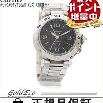 カルティエ (Cartier) 【新品仕上げ済み】 Cartier【カルティエ】パシャC メリディアン GMT 腕時計ブラッ...