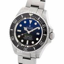 롤렉스 (Rolex) Sea-Dweller Deepsea D Blue Dial Steel 44MM...