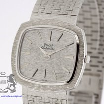 Piaget solid 18k White Gold Vintage Watch from 1971 Papers 12431