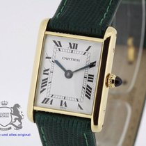Cartier Tank solid 18K Gold Vintage manual-wind Cal. JLC K821/1