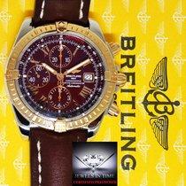 Breitling Chronomat Evolution 18k Rose Gold & Steel...