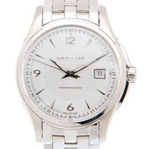 Hamilton Jazz Master Stainless Steel White Automatic H32515155