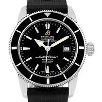 Breitling Superocean Heritage 42 Black Dial Mens Watch A17321