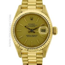 Rolex 18k yellow gold ladies President