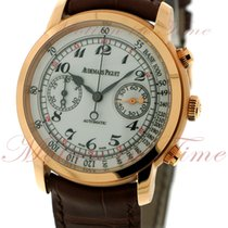 Audemars Piguet Jules Audemars Chronograph, White Lacquered...