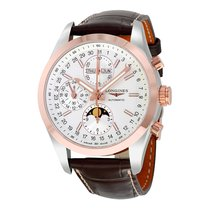 Longines Conquest White Dial Chronograph Automatic Men's...