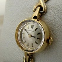 Certina 18ct golden vintage jubileum model, serviced