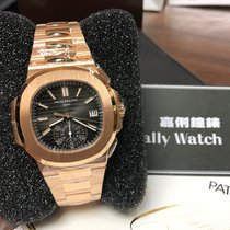 Patek Philippe Cally - 5980/1R -001 Nautilus Black Dial RG...