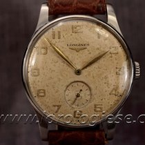 Longines Vintage 1951 Steel Watch Ref. 5356 Light Brown...