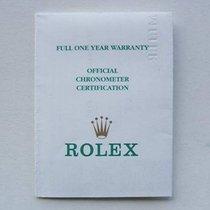 Rolex Libretto / Booklet per Yacht-Master 16622