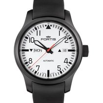 Fortis Aviatis Nocturnal Auto Day/date Easy Read 20atm Swiss...