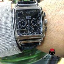 제니트 (Zenith) El-Primero Chronograph Square Automatic 0420...