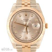 Rolex Datejust 41 126331 Diamant Stahl/Roségold ungetragen...