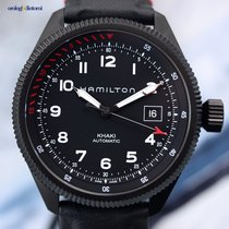 Hamilton Men's Khaki Pilot Takeoff Air Zermatt Automatic...