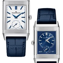 Jaeger-LeCoultre Reverso Tribute Duo Stainless Steel Silver...