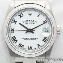 Rolex Oyster DateJust 78240 31mm Medio quadrante bianco full set