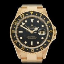 Rolex GMT-Master II 18k Yellow Gold Gents 16718 - W3934