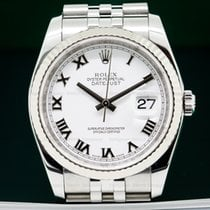 Rolex 116234 Datejust SS White Dial M Series (26348)