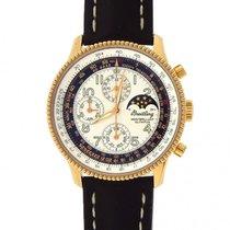 Breitling Montbrillant Olympus 18k Rose Gold Chronograph...