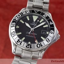Omega Seamaster Gmt Chronometer Automatik Stahl 50 Years Edition