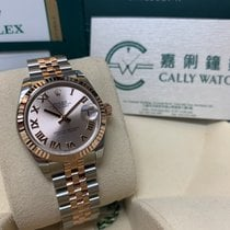 Rolex Cally - 178271 Pink Roma Datejust Steel Rose Gold Jubilee