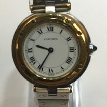 Cartier santos twotone steel and gold  vintage