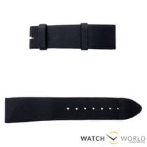 Jaeger-LeCoultre 18mm black semi-matt strap