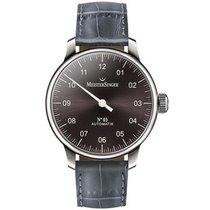 Meistersinger Uhren Herrenuhr Einzeigeruhr N03 AM907