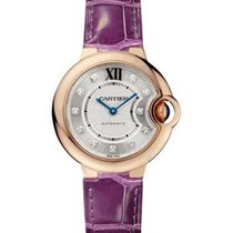 Cartier WE902063 Ballon Bleu Ladies 33mm Automatic in Rose...