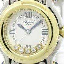 ショパール (Chopard) Polished Chopard Happy Sports Diamond 18k Gold...