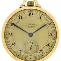 Rolex 14k yellow gold Chronometer Lucerne Pocketwatch