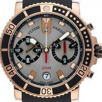 Ulysse Nardin Maxi Marine Diver Chronograph 18kt Roségold...